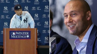 Giancarlo Stanton talks about his meeting with Derek Jeter before being traded to the Yankees