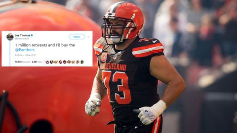 Joe Thomas, former Badgers tackle