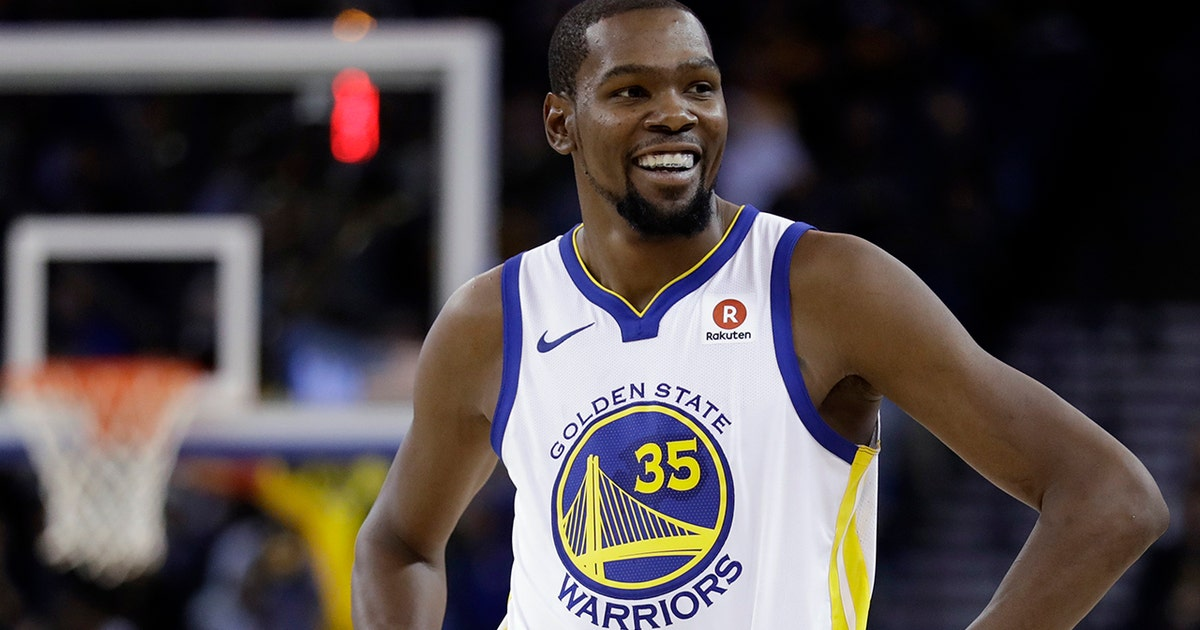 new style bed58 2eddf Nick reveals what Kevin Durant without Steph Curry is doing to inch KD  closer to LeBron James  mantle