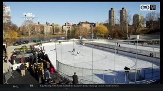 Blake & White Extras: LA Kings practice in Central Park