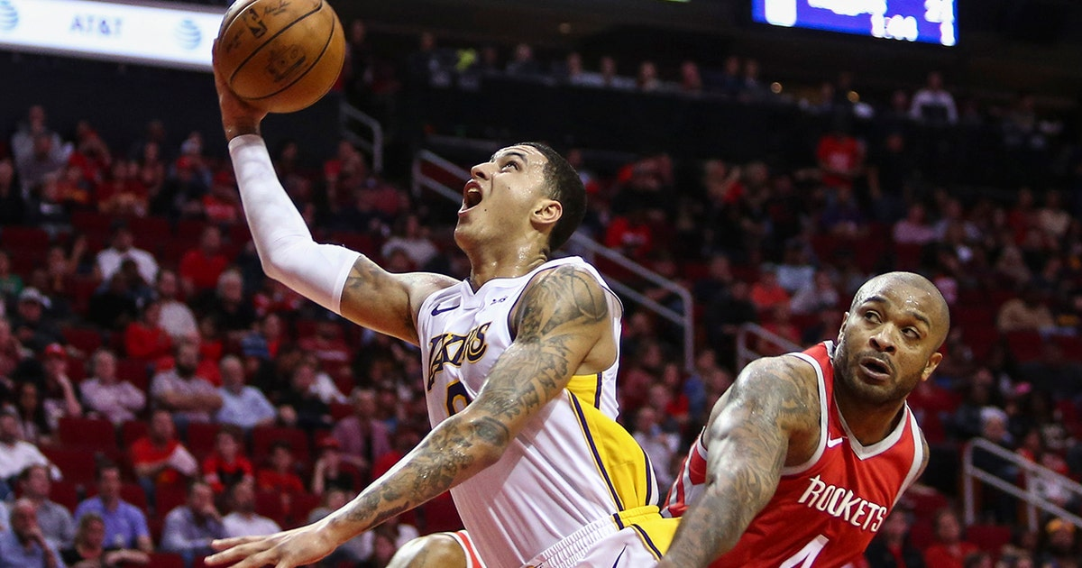 Cris Carter reacts to Kyle Kuzma dropping 38 points in the Lakers' win over the Houston Rockets