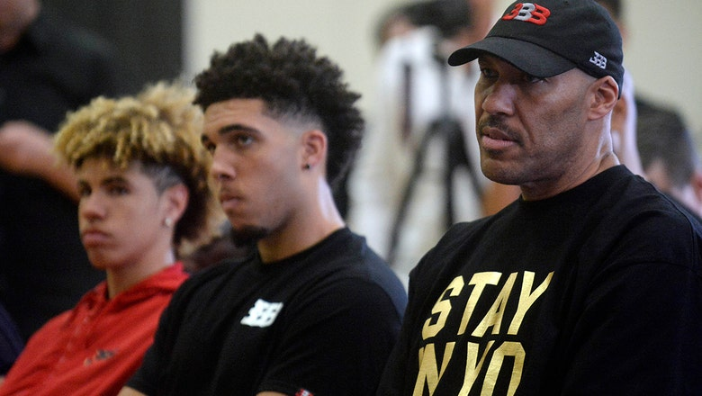 Cris Carter on LaVar Ball pushing LiAngelo and LaMelo to play abroad: 'He's robbing these kids of a  balanced life'