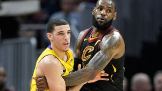 Shannon Sharpe reacts to LeBron and Lonzo talking post-game: 'If anyone can relate to him... It's one LeBron James'