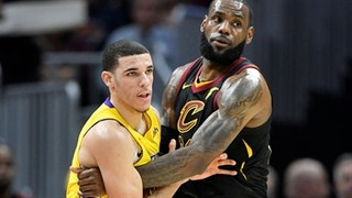 'Undisputed': LeBron James & Lonzo Ball share a moment