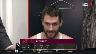 Kevin Love jokes about LeBron James' 'bad' game