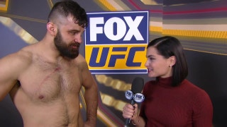 Julian Marquez Interview | POST-FIGHT | UFC on FOX