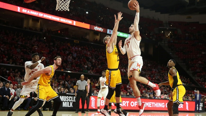 Maryland takes care of UMBC 66-45 after a rough first half