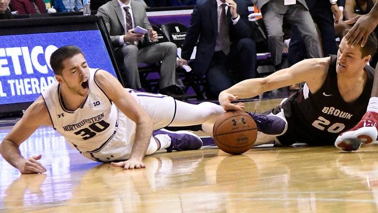 Northwestern Wildcats claw through Brown Bears despite Bryant McIntosh injury