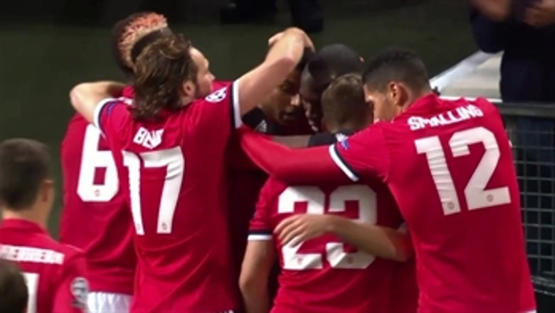 Manchester United vs. CSKA Moscow | 2017-18 UEFA Champions League Highlights