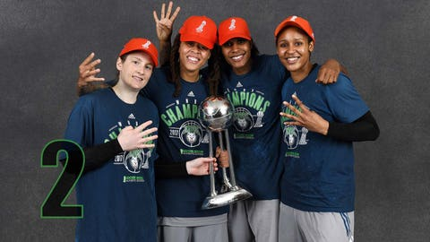 Lynx win fourth WNBA title in seven years
