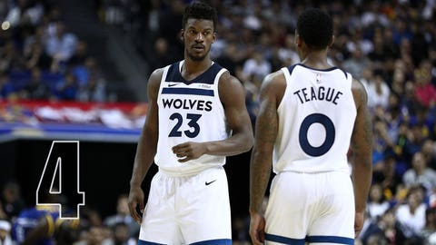 Wolves make big moves: Trade for Jimmy Butler, deal Ricky Rubio, sign Jeff Teague