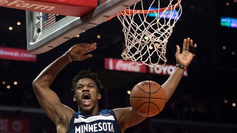 Jimmy Butler, Timberwolves forward (↑ UP)