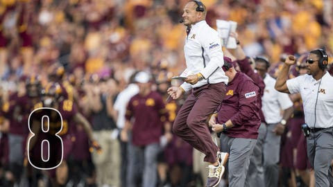 Tracy Claeys fired as Minnesota head coach weeks after finishing 9-4 season with bowl game win and P.J. Fleck hired