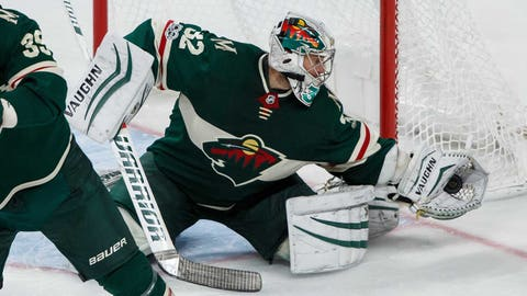 Alex Stalock, Wild goalie (➡ EVEN)