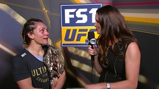 Nicco Montano backstage interview | THE ULTIMATE FIGHTER