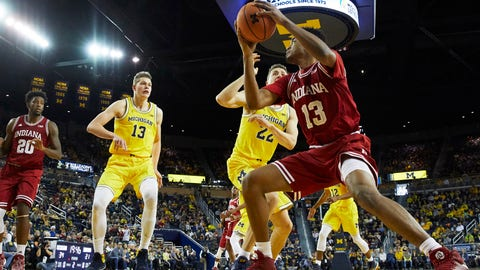 Jordan Poole rises to occasion for Michigan Basketball against Indiana