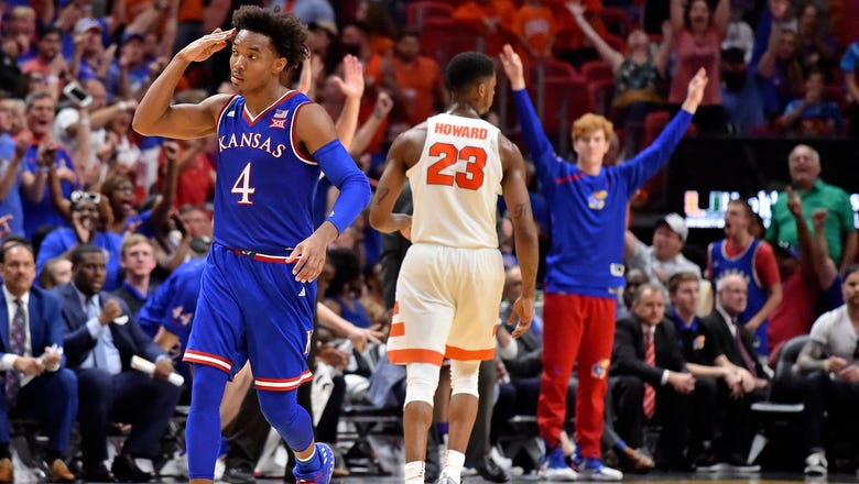 Graham scores 35 for second straight game as Kansas tops Syracuse 76-60