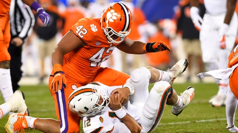 Clemson romps in ACC title game, top playoff seed likely is next
