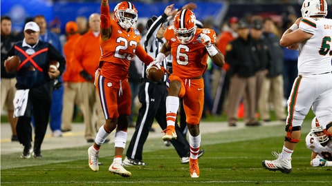 Clemson owned the turnover battle