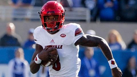 3. Lamar Jackson, QB Louisville