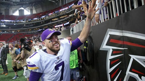 Former Minnesota Vikings QB Case Keenum to sign with Denver Broncos