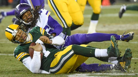 Brett Hundley, Packers quarterback (↓ DOWN)
