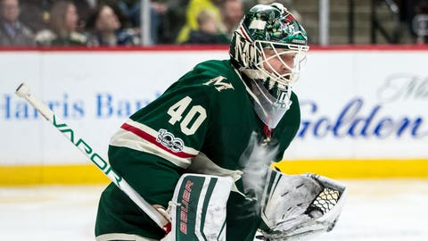 Wild goalie Devan Dubnyk is week to week with lower-body injury