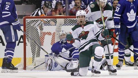 Wild goalie Devan Dubnyk undergoes MRI; Leafs to be without Auston Matthews
