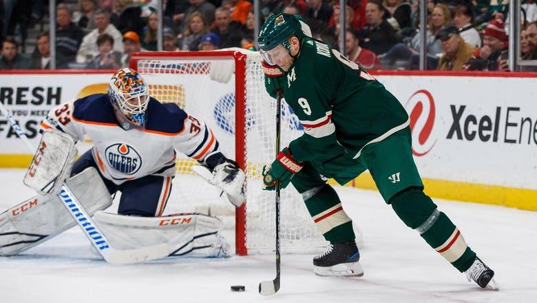 Win streak snapped at four as Wild lose 3-2 to Edmonton