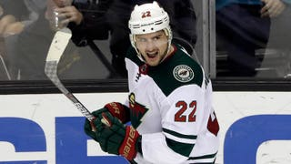 WATCH: Niederreiter's OT goal hands Wild a win in San Jose