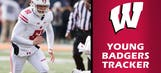 Badgers long snapper Bay gets on the stat sheet — and that's OK