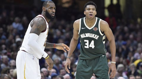 National Basketball Association scores: Bucks edge Cavaliers 119-116