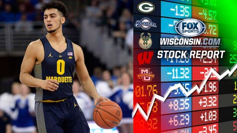 Markus Howard, Marquette guard (⬆ UP)