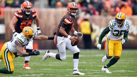 Packers trade for DeShone Kizer from Browns