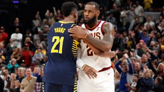 Thaddeus Young on defending LeBron James: 'When he goes, you go'