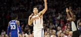 Booker drops 46 as Suns drop 76ers