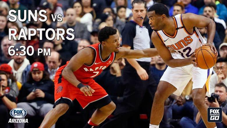 Preview: Suns vs. Raptors, 6:30 p.m., FOX Sports Arizona