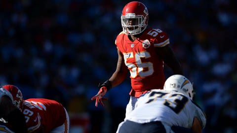 Chiefs void veteran linebacker Derrick Johnson's contract