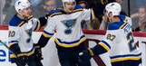 Schenn's hat trick lifts Blues over Canadiens 4-3