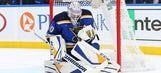 Blues recall G Husso from AHL on emergency basis with Hutton ailing