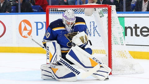 Blues Utilize Season Ticket Holder As Emergency Backup Goalie