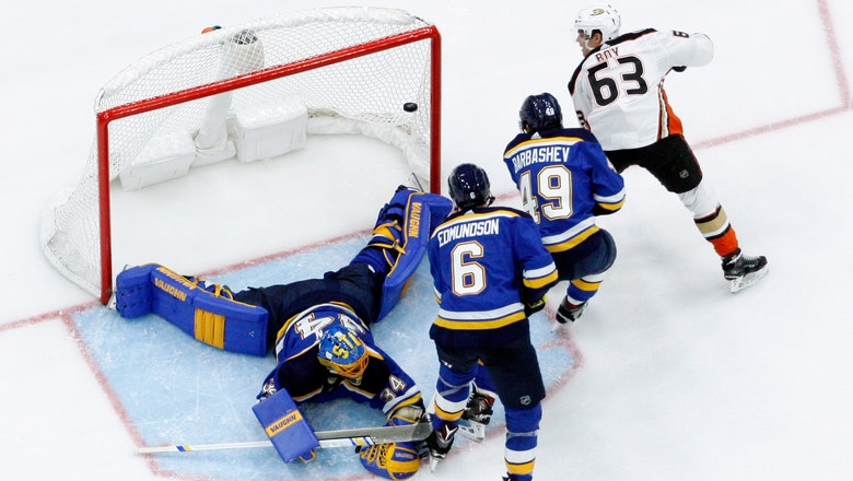Blues can't generate enough offense in 3-1 loss to Ducks