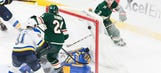 Blues suffer 2-1 overtime loss to Wild