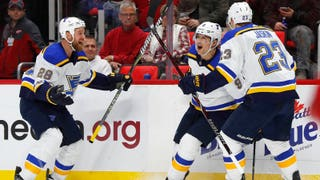 Scottie Upshall says his energetic goal celebrations create 'a lot of energy for the boys'