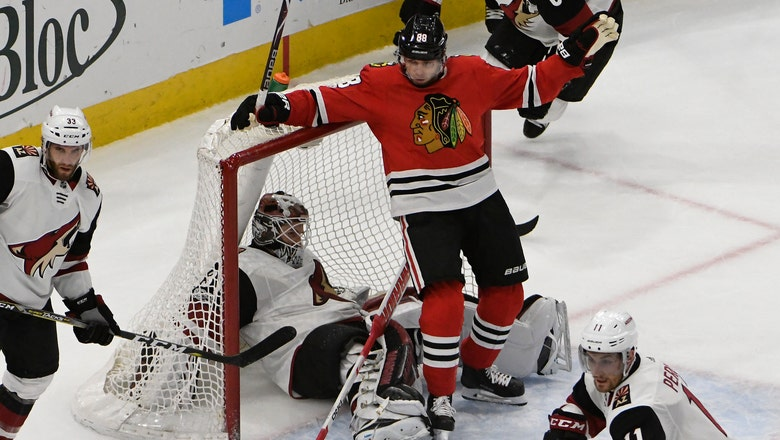 Coyotes can't match Blackhawks down stretch, drop trip finale