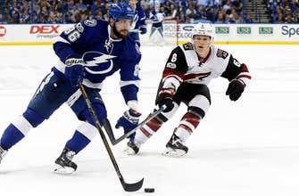 Preview: Coyotes vs. Lightning, 6:30 p.m., FOX Sports Arizona