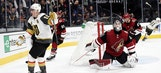 Coyotes claw back but still can't solve Vegas, fall in OT