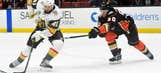 Golden Knights hot at home as they face Ducks