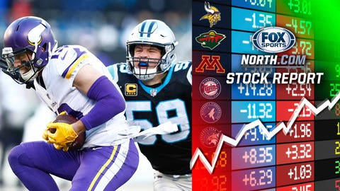 Adam Thielen, Vikings receiver (↑ UP)
