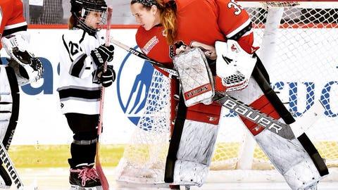 Katie Fitzgerald, former St. Cloud State goalie